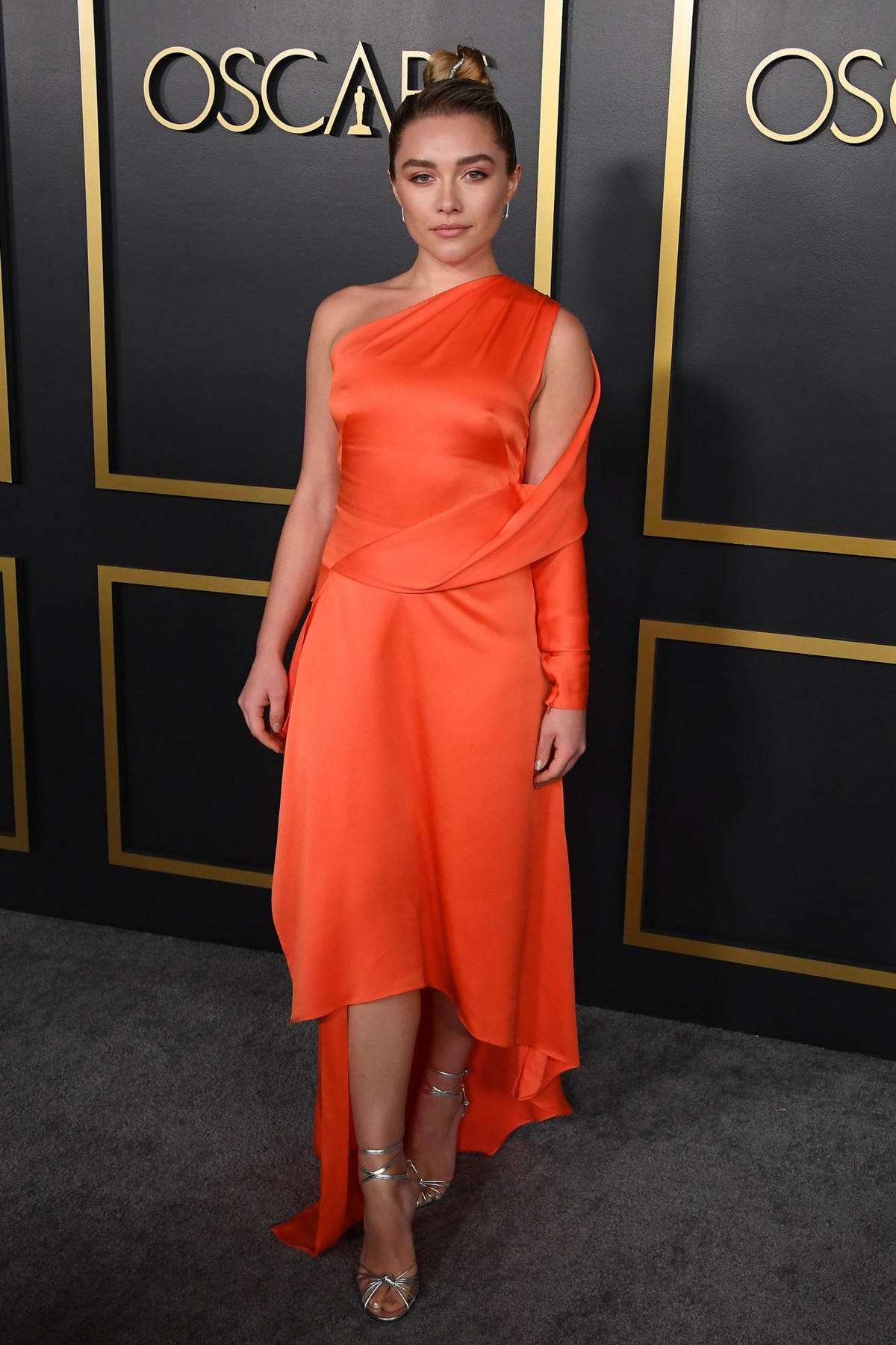 Florence Pugh attends the 92nd Oscars Nominees Luncheon in Hollywood, California