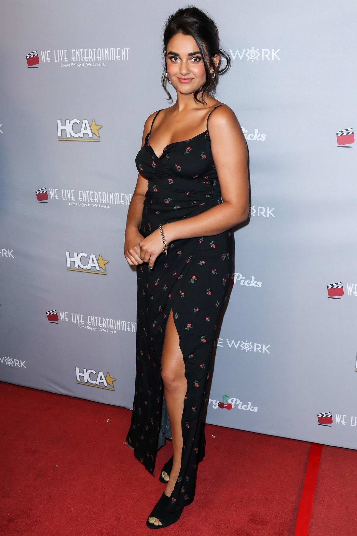 Geraldine Viswanathan attends the 3rd Annual Hollywood Critics' Awards at the Taglyan Cultural Complex in Hollywood, California
