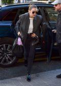 Gigi Hadid seen arriving for Fashion Week 2020 in Paris, France