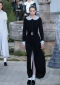 Gigi Hadid walks the runway during the Chanel Haute Couture Spring/Summer 2020 show in Paris, France
