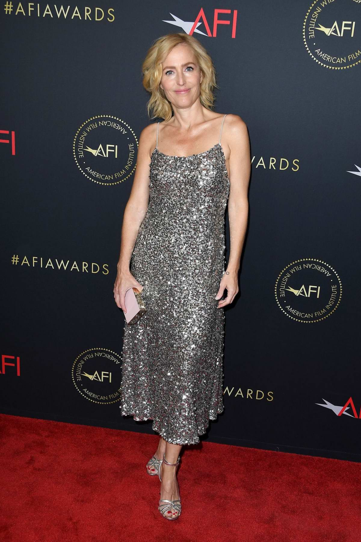 Gillian Anderson attends the 20th Annual AFI Awards at Four Seasons Hotel Los Angeles in Beverly Hills, California