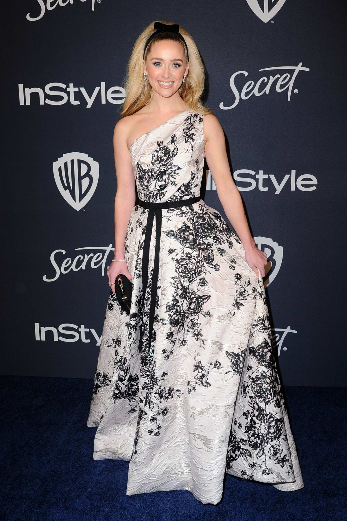 Greer Grammer attends the 21st annual Warner Bros and InStyle Golden Globe After-Party in Beverly Hills, California