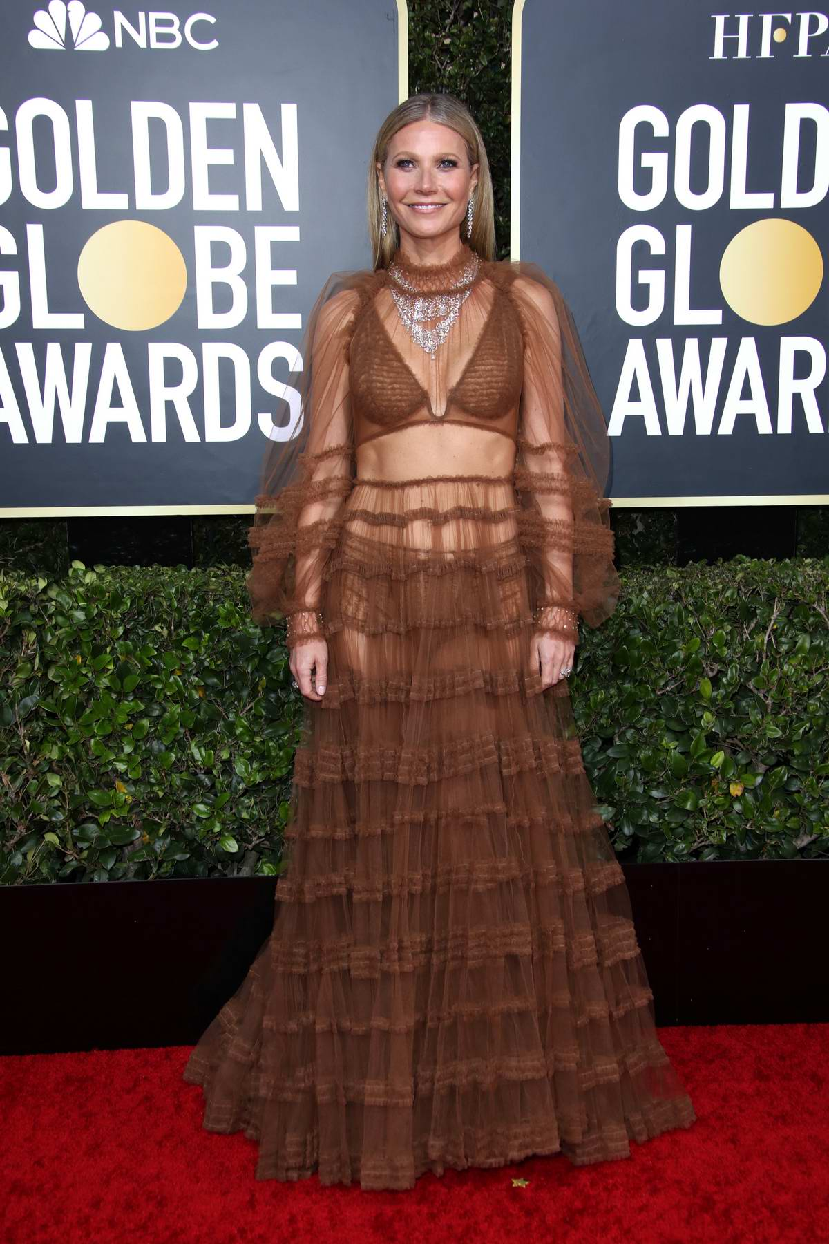 Gwyneth Paltrow attends the 77th Annual Golden Globe Awards at The Beverly Hilton Hotel in Beverly Hills, California