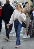 Hailey Bieber and Justin Bieber step out for breakfast in Beverly Hills, California