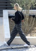 Hailey Bieber keeps it comfy as she goes house hunting with a friend in Los Angeles