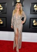 Heidi Klum attends the 62nd Annual Grammy Awards at Staples Center in Los Angeles