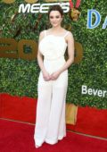 Hunter King attends the 7th Annual Gold Meets Golden event in Los Angeles