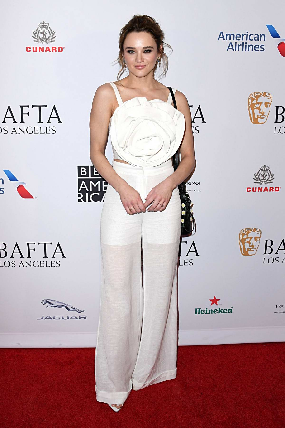 Hunter King attends the BAFTA Los Angeles Tea Party 2020 at Four Seasons Hotel in Beverly Hills, California