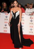 Jacqueline Jossa attends the National Television Awards 2020 at The O2 Arena in London, UK