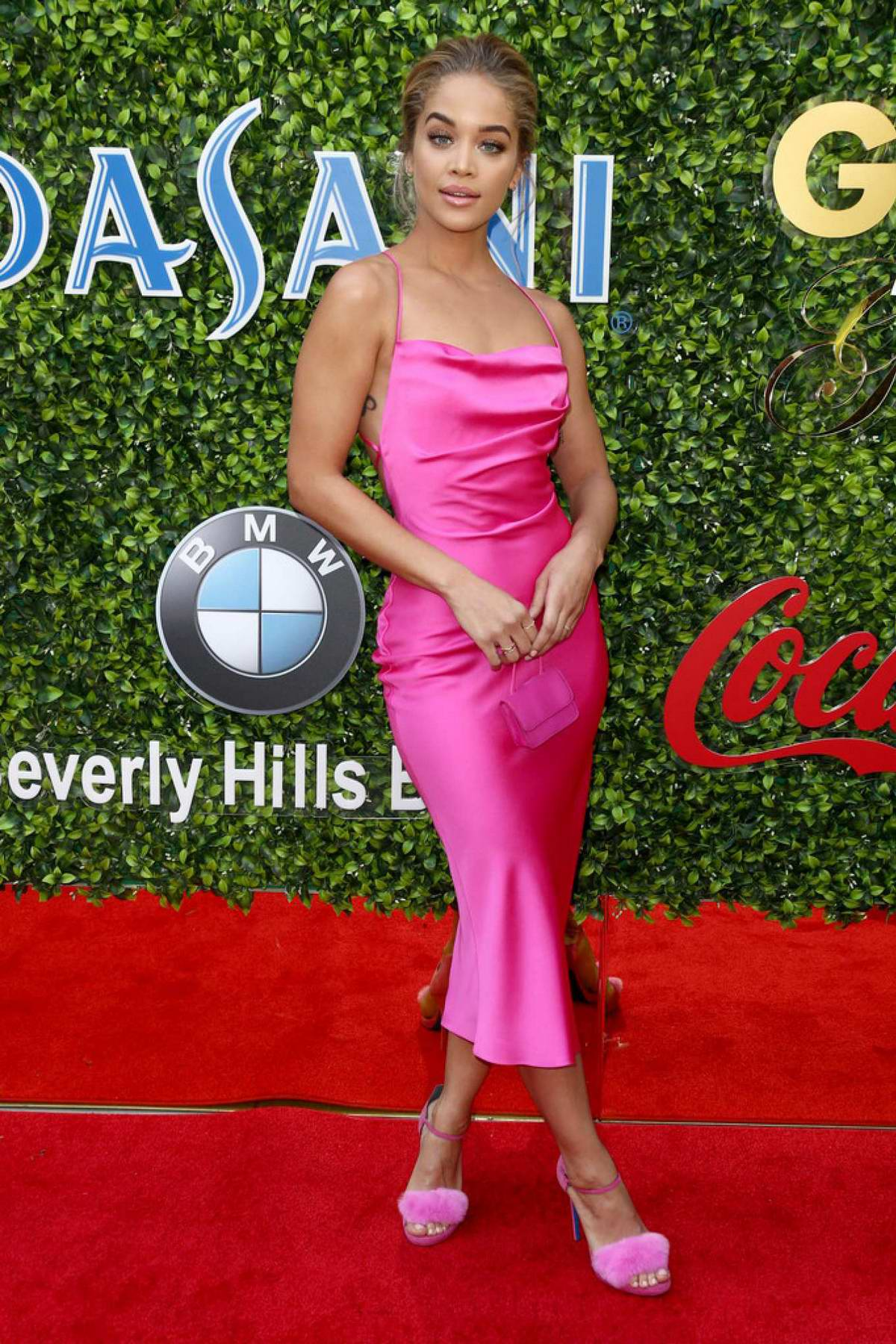 Jasmine Sanders attends the 7th Annual Gold Meets Golden event in Los Angeles