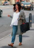 Jenna Dewan is all smiles as she grabs lunch at Sweet Butter Kitchen in Studio City, California