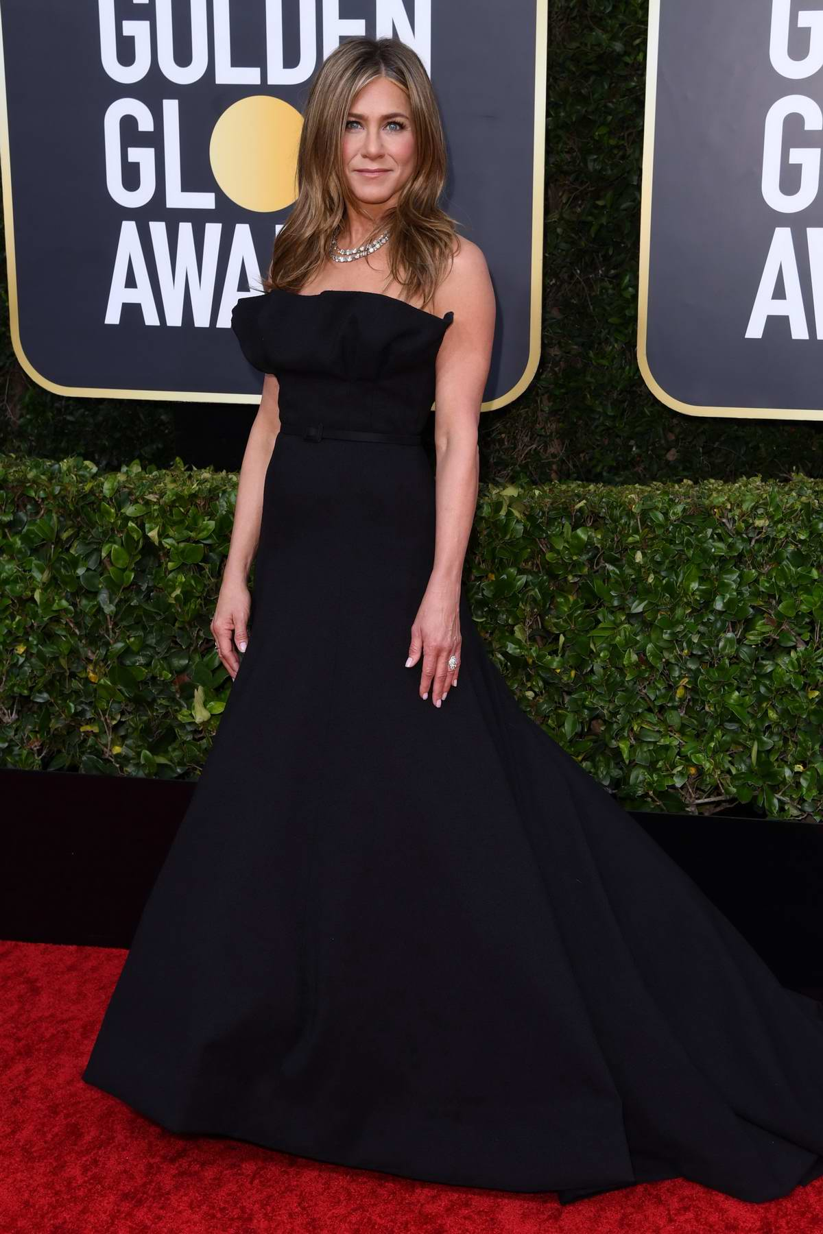 Jennifer Aniston attends the 77th Annual Golden Globe Awards at The Beverly Hilton Hotel in Beverly Hills, California