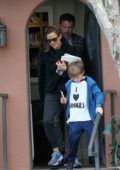 Jennifer Garner and Ben Affleck take their son Samuel to an appointment in Santa Monica, California