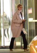 Jennifer Lawrence steps out for dinner at Milo's restaurant in New York City