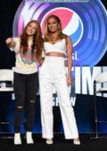 Jennifer Lopez and Shakira attend a press meet ahead of Super Bowl performance in Miami, Florida
