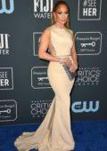 Jennifer Lopez attends the 25th Annual Critics' Choice Awards at Barker Hangar in Santa Monica, California