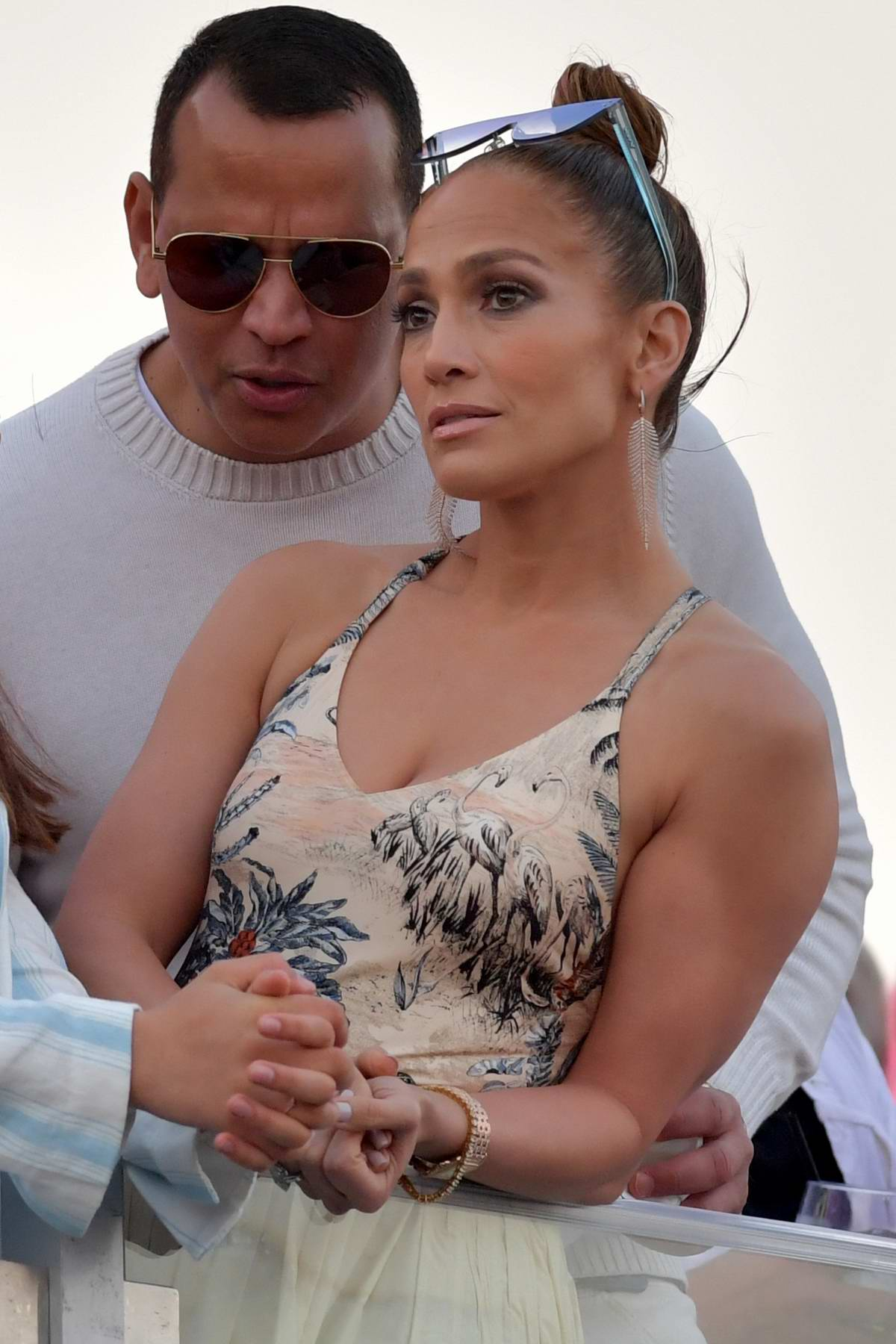 Jennifer Lopez attends the Pegasus World Cup in Hallandale, Florida