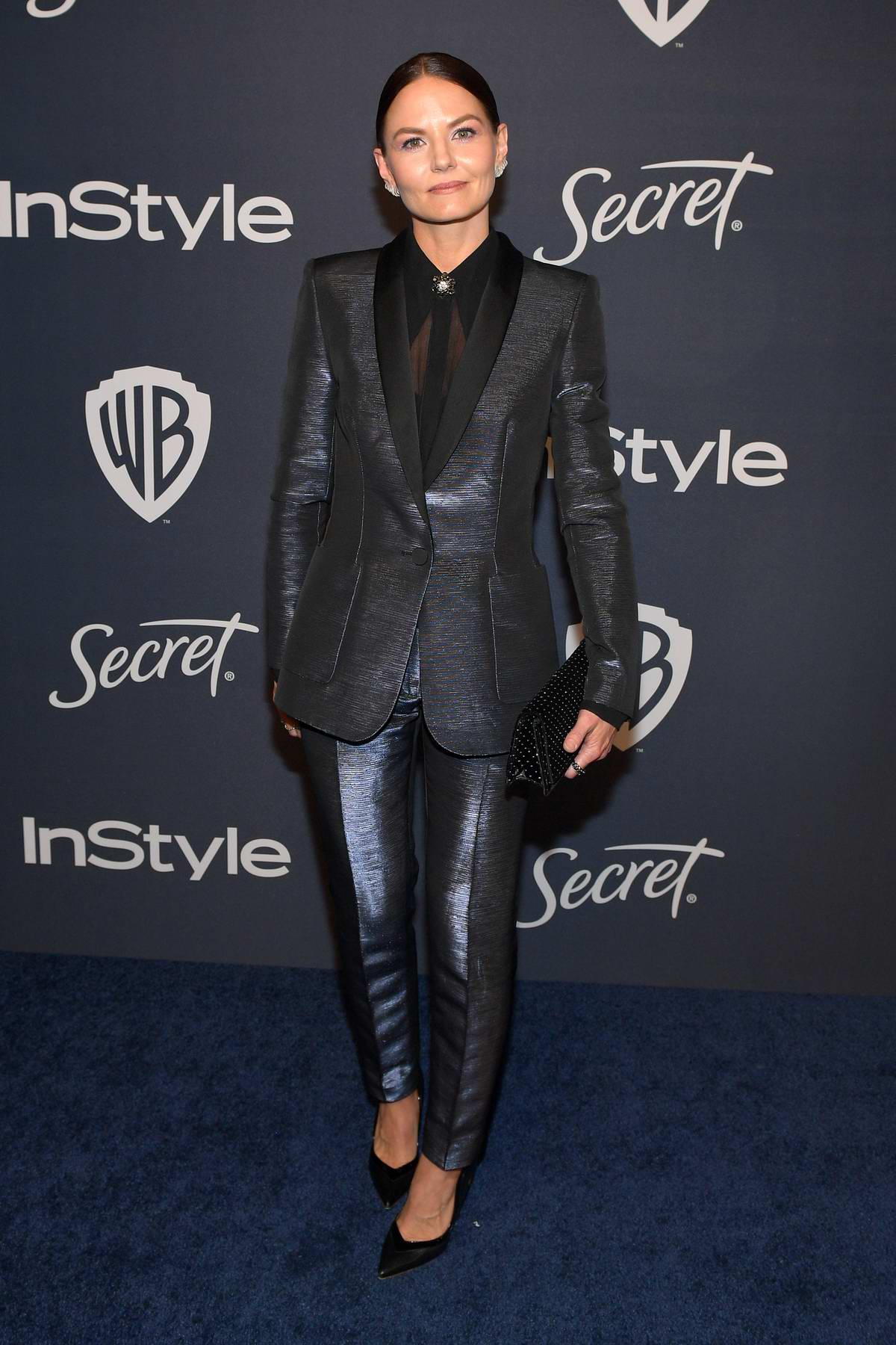 Jennifer Morrison attends the 21st annual Warner Bros and InStyle Golden Globe After-Party in Beverly Hills, California