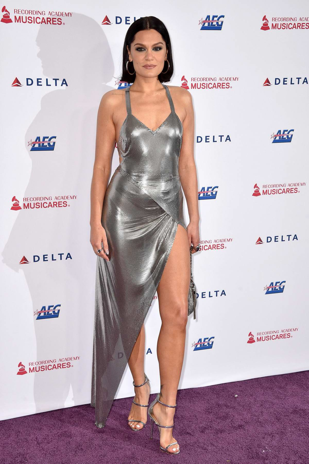 Jessie J attends the 2020 MusiCares Person of the Year Gala in Los Angeles