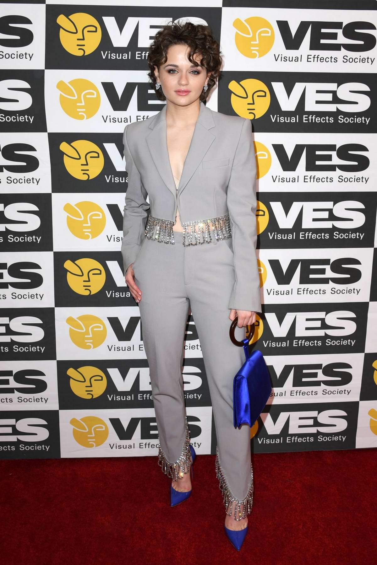 Joey King attends the 18th Annual Visual Effects Society Awards in Beverly Hills, California