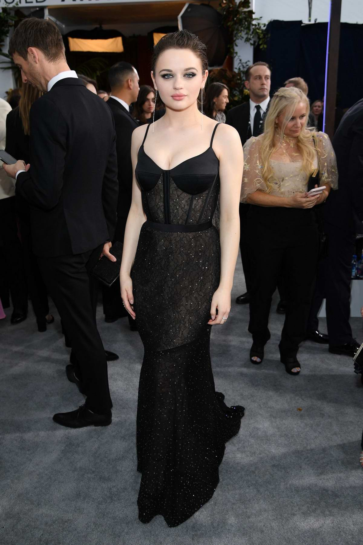 Joey King attends the 26th Annual Screen Actors Guild Awards at the Shrine Auditorium in Los Angeles
