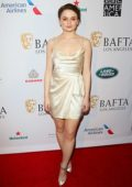 Joey King attends the BAFTA Los Angeles Tea Party 2020 at Four Seasons Hotel in Beverly Hills, California