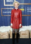 Julia Garner attends the IMDb Studio at Acura Festival Village during the Sundance Film Festival 2020 in Park City, Utah