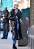Kaia Gerber spotted while looking for apartments in New York City