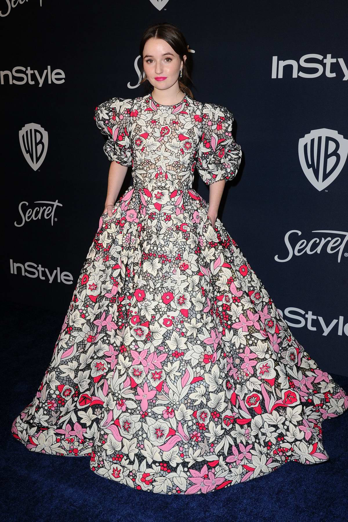 Kaitlyn Dever attends the 21st annual Warner Bros and InStyle Golden Globe After-Party in Beverly Hills, California