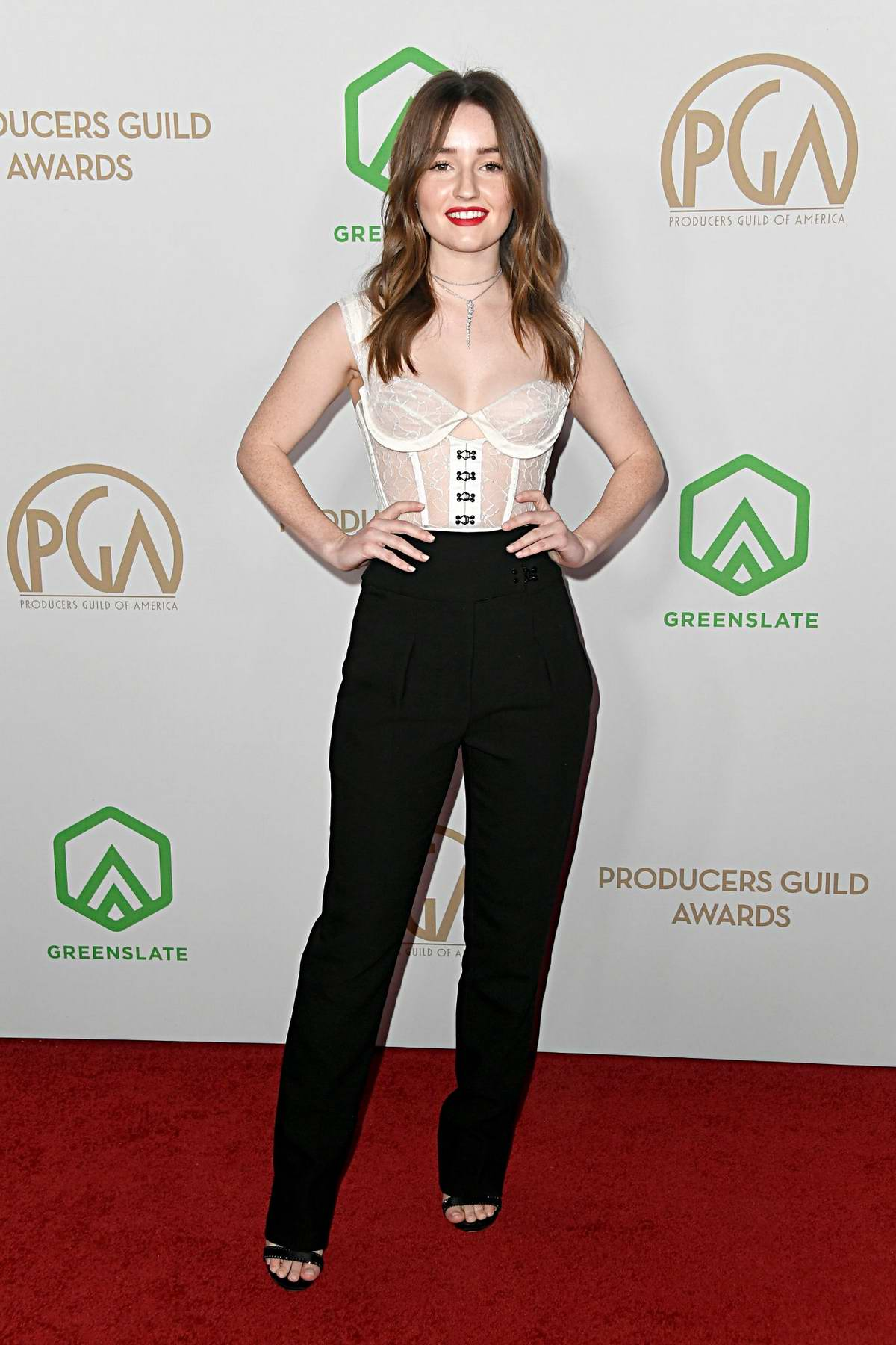 Kaitlyn Dever attends the 31st Annual Producers Guild Awards in Los Angeles