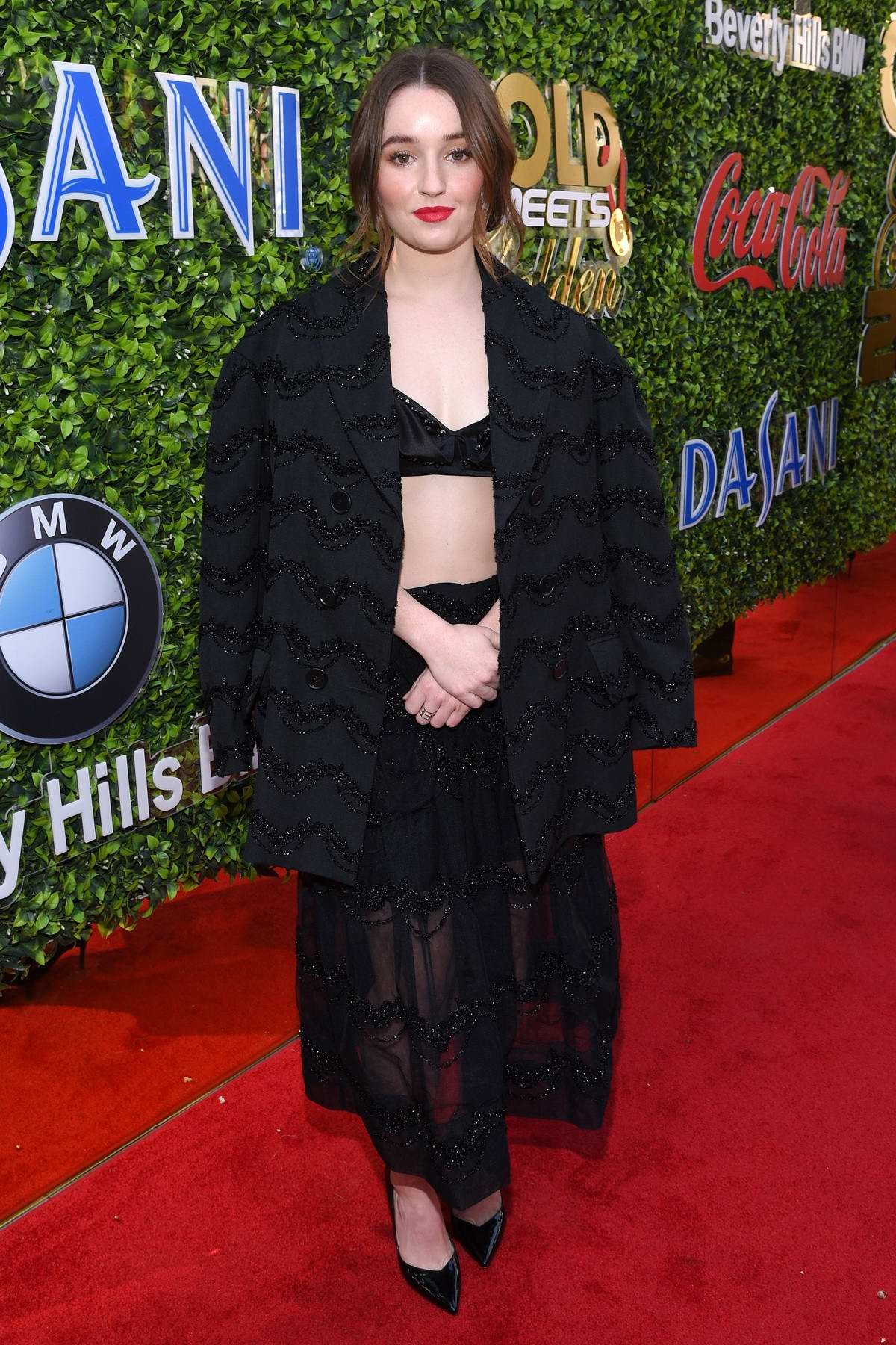 Kaitlyn Dever attends the 7th Annual Gold Meets Golden event in Los Angeles