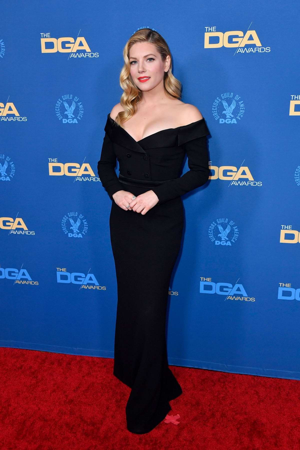 Katheryn Winnick attends the 72nd Annual Directors Guild of America Awards in Los Angeles