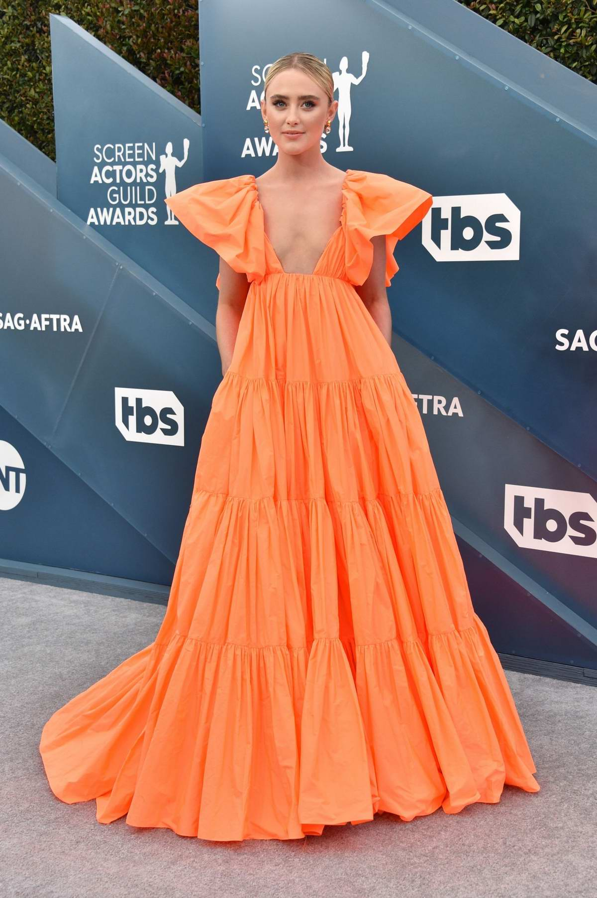 Kathryn Newton attends the 26th Annual Screen Actors Guild Awards at the Shrine Auditorium in Los Angeles