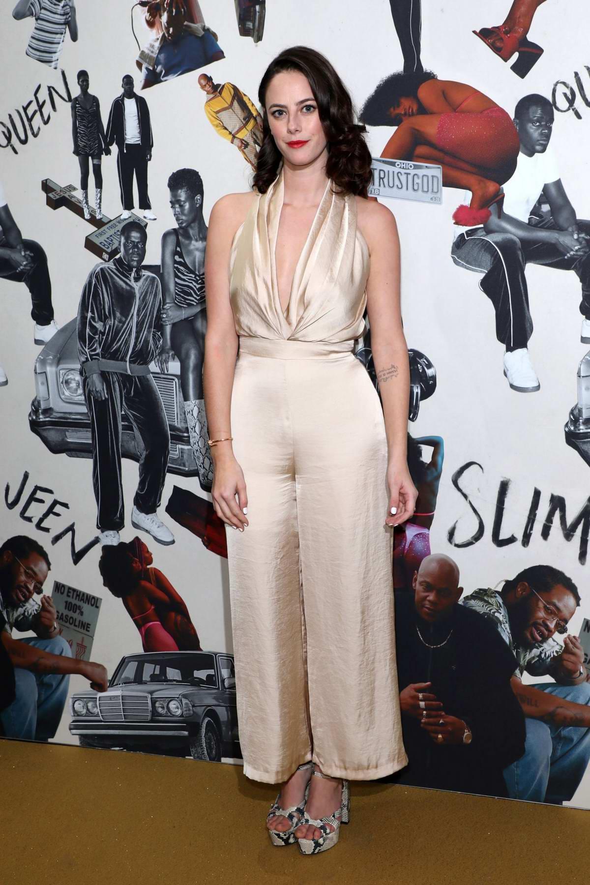 Kaya Scodelario attends the UK Premiere of 'Queen & Slim' in London, UK