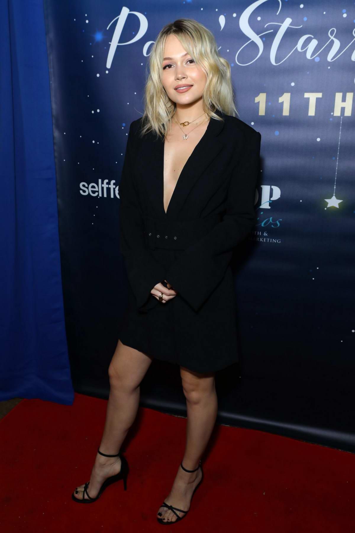 Kelli Berglund attends Paris Berelc's 21st Birthday Party at the Hideaway in Los Angeles