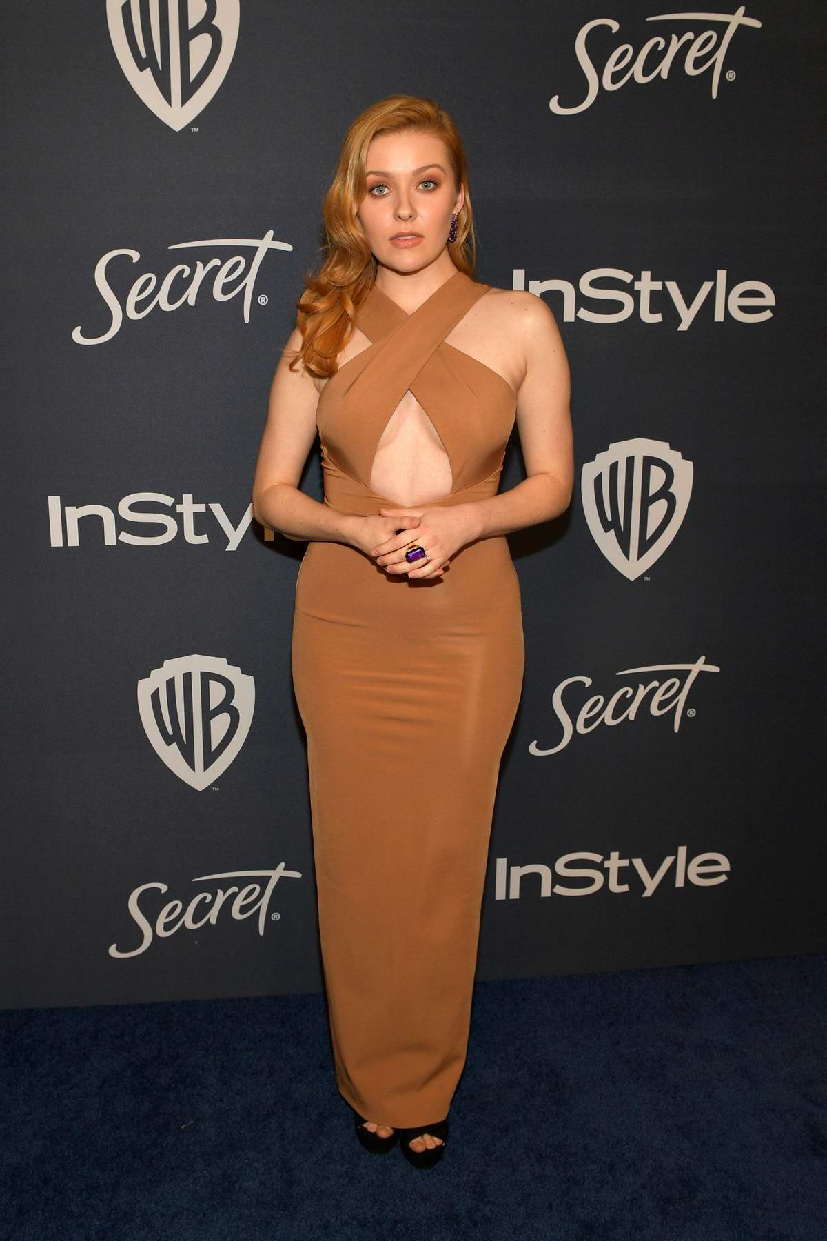 Kennedy McMann attends the 21st annual Warner Bros and InStyle Golden Globe After-Party in Beverly Hills, California