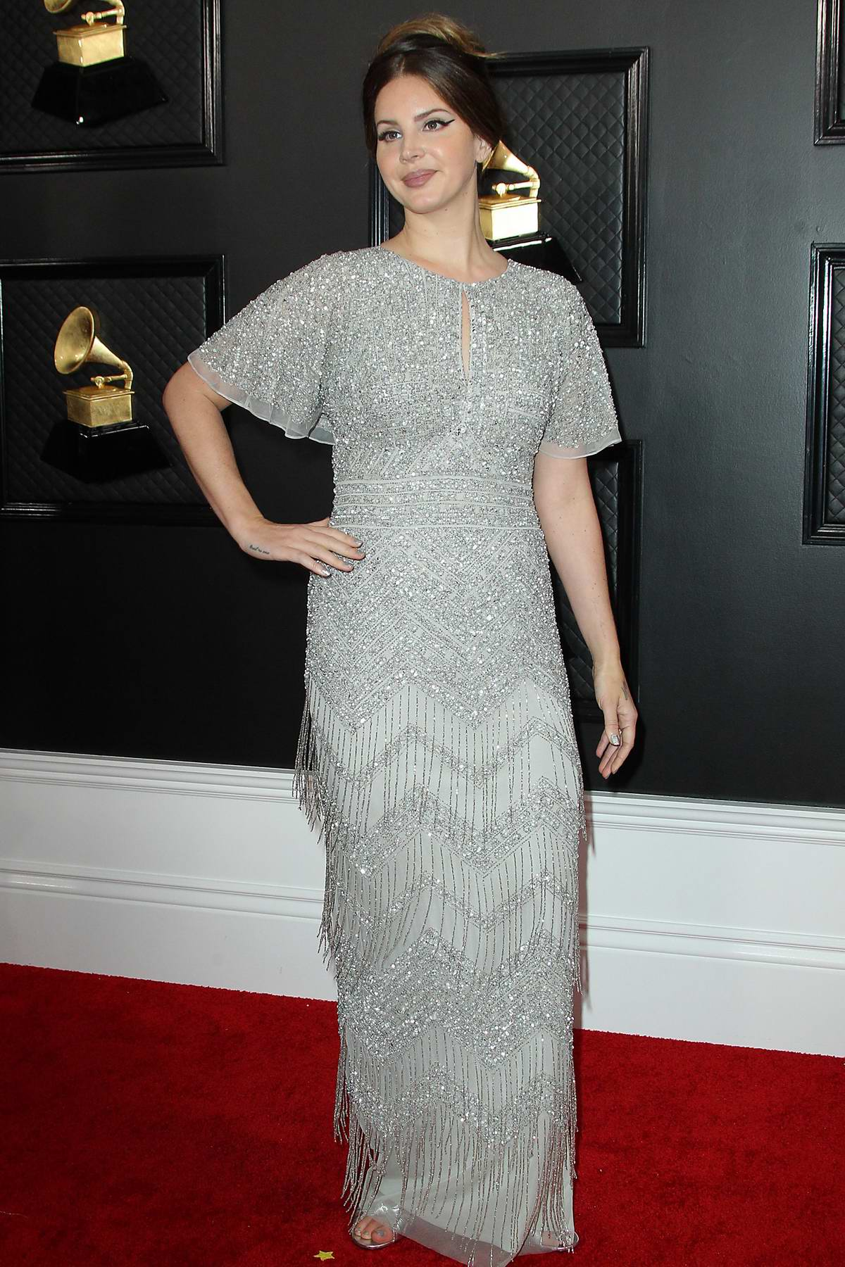 Lana Del Rey attends the 62nd Annual Grammy Awards at Staples Center in Los Angeles
