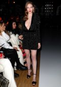 Larsen Thompson attends Ralph and Russo Fashion Show in Paris, France