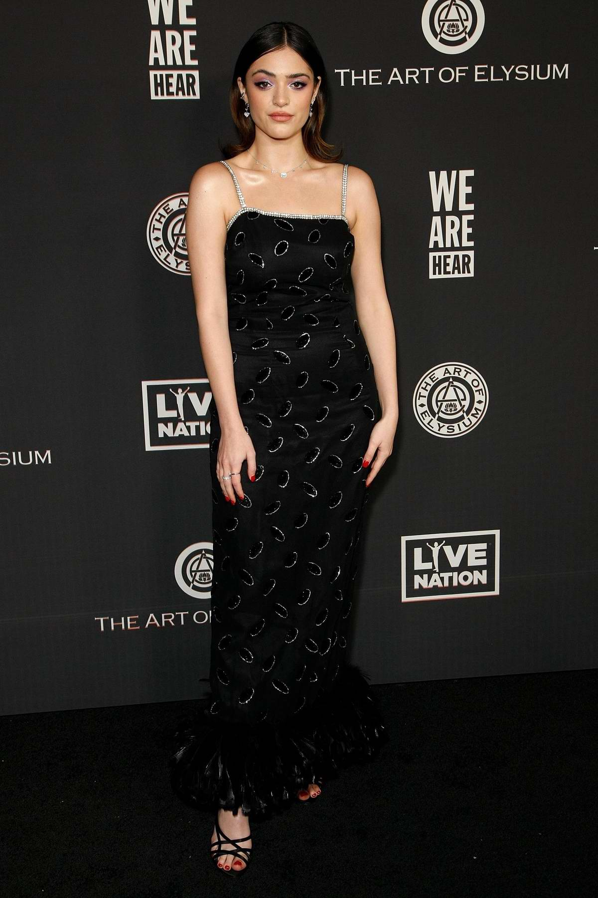 Luna Blaise attends The Art Of Elysium's 13th Annual Celebration – Heaven at Hollywood Palladium in Hollywood, California