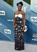 Lupita Nyong'o attends the 26th Annual Screen Actors Guild Awards at the Shrine Auditorium in Los Angeles