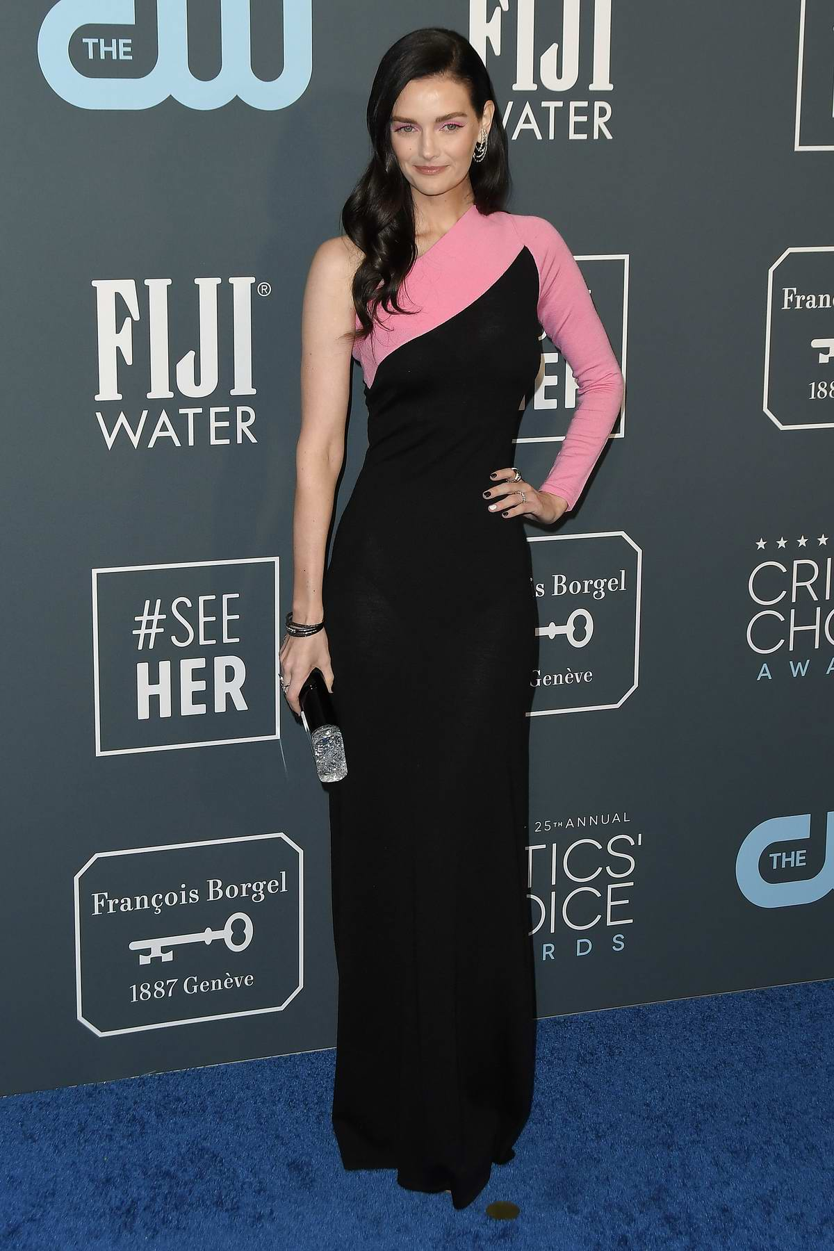Lydia Hearst attends the 25th Annual Critics' Choice Awards at Barker Hangar in Santa Monica, California