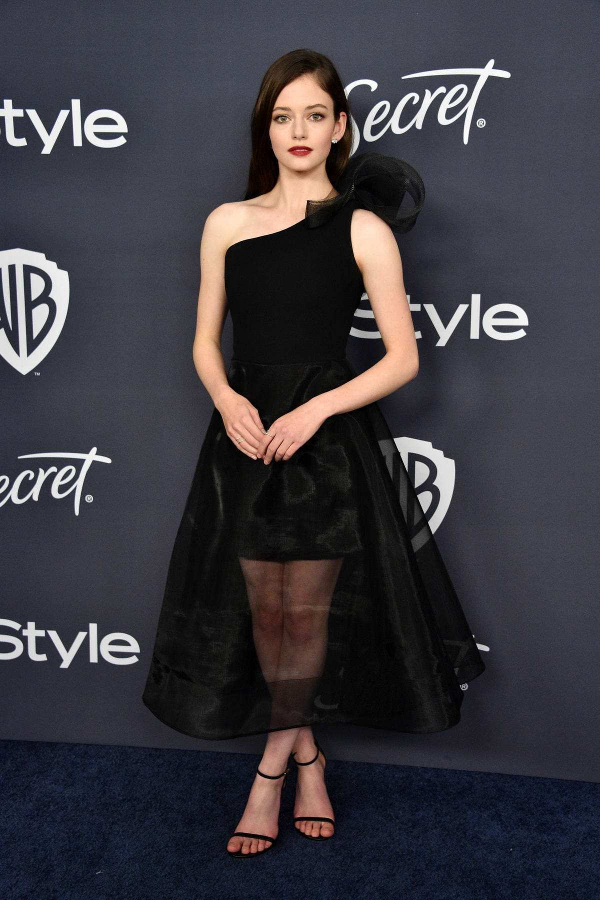 Mackenzie Foy attends the 21st annual Warner Bros and InStyle Golden Globe After-Party in Beverly Hills, California