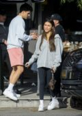 Madison Beer reunites with ex-boyfriend Jack Gilinsky for lunch with friends at Toast in Los Angeles