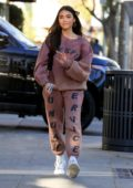 Madison Beer rocks Kanye West's Sunday service sweats as she steps out for errands in Beverly Hills, California