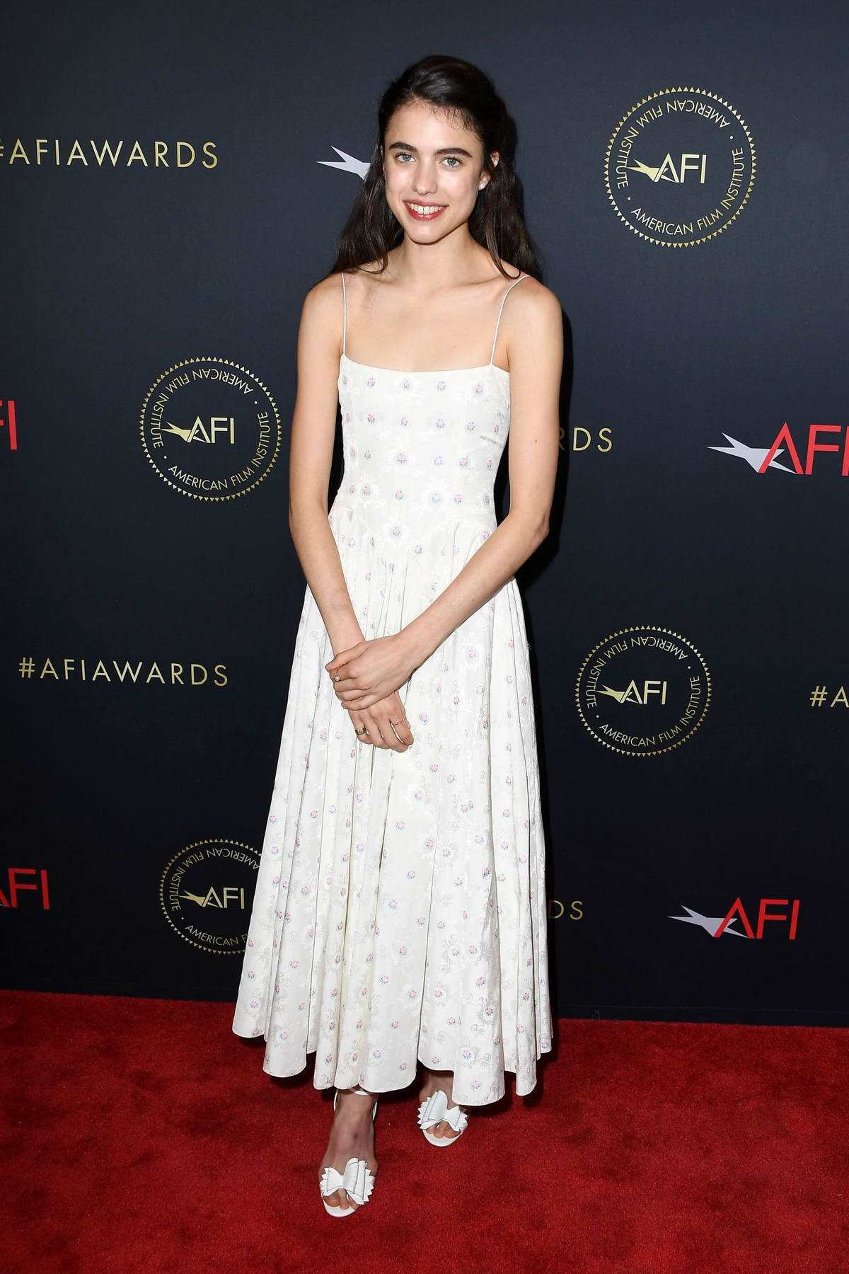 Margaret Qualley attends the 20th Annual AFI Awards at Four Seasons Hotel Los Angeles in Beverly Hills, California