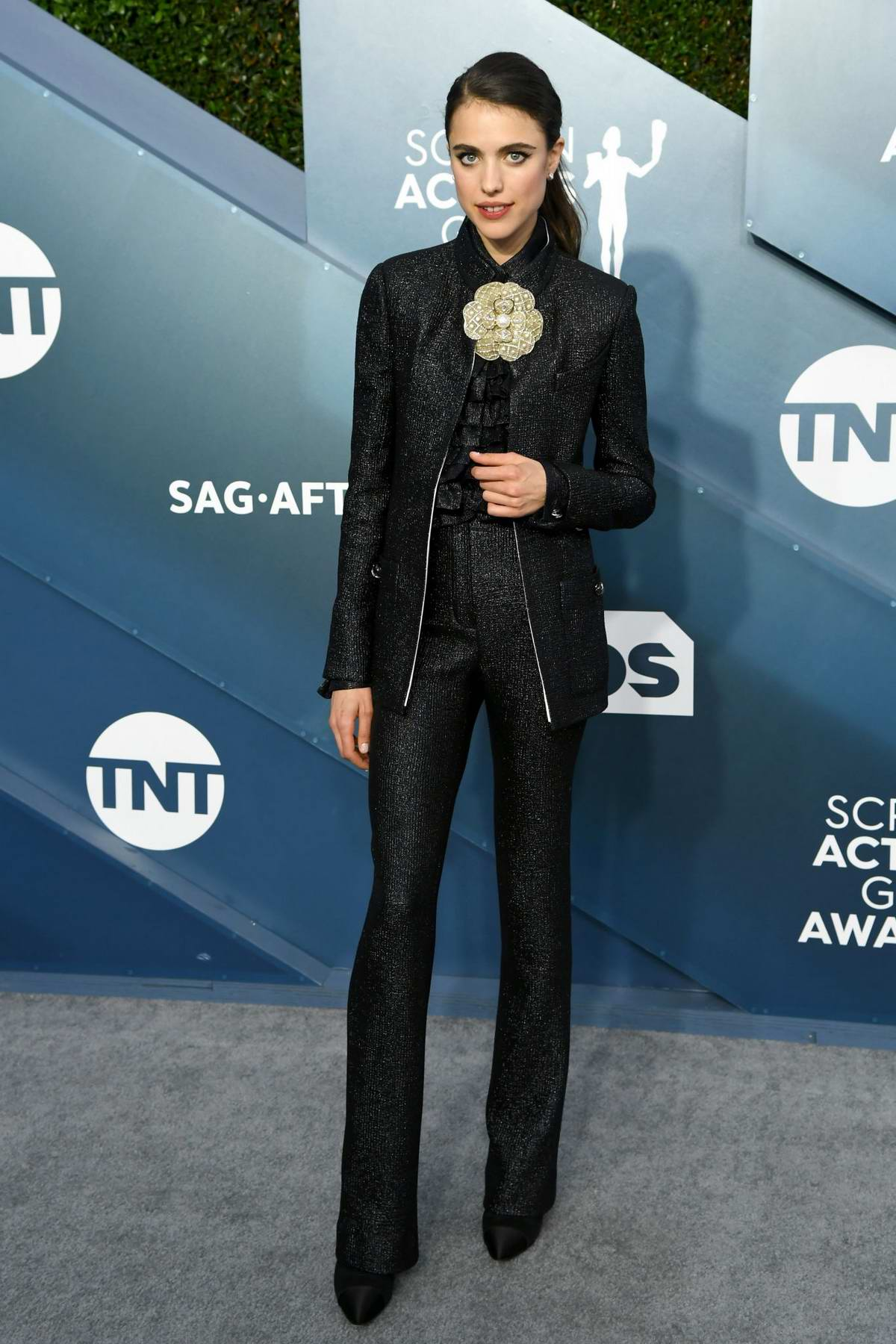 Margaret Qualley attends the 26th Annual Screen Actors Guild Awards at the Shrine Auditorium in Los Angeles