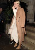 Margot Robbie seen leaving Annabel's Member's Club in Mayfair, London, UK