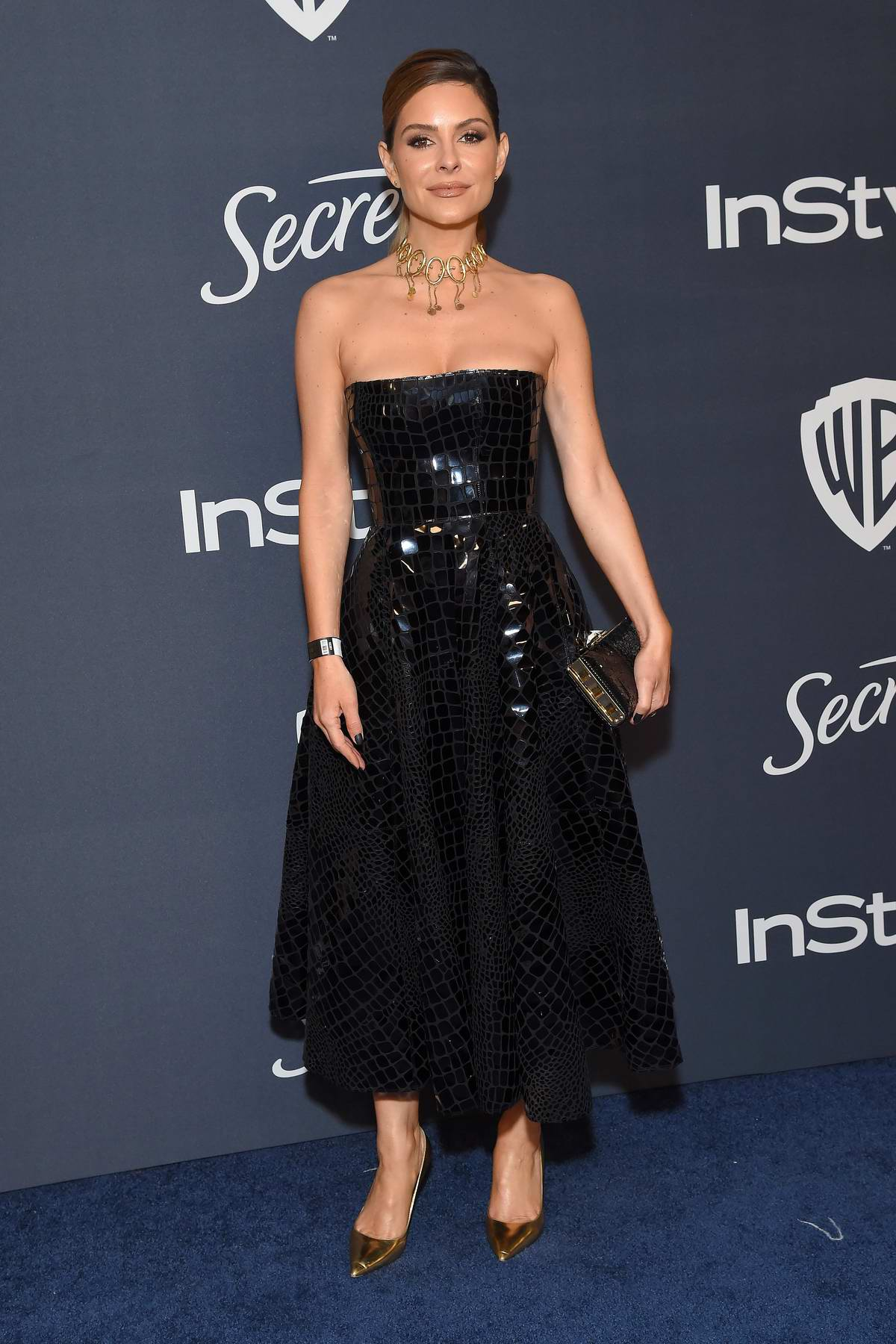 Maria Menounos attends the 21st annual Warner Bros and InStyle Golden Globe After-Party in Beverly Hills, California