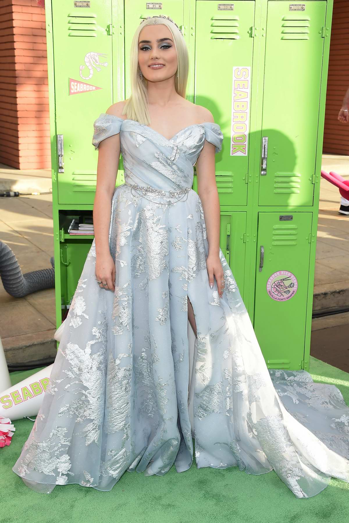 Meg Donnelly attends the Premiere of 'Zombies 2' at Walt Disney Studios in Los Angeles