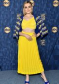 Meg Donnelly attends the TCA Winter Press Tour at The Langham in Pasadena, California